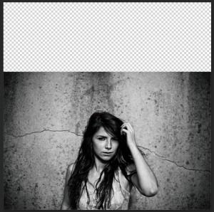 Transformation de photo dans Photoshop