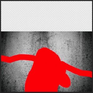Peindre une sélection avec le mode masque de Photoshop