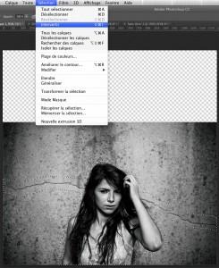 Inverser la sélection dans Photoshop