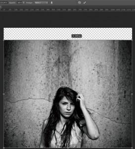 Étirer une image sans déformation dans Photohop