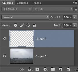nouveau calque pour la retouche dans Photoshop CC