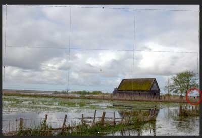 Redresser l'horizon d'un paysage dans Photoshop